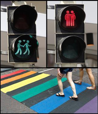 Utrecht_Pays-Bas_feux_LGBT