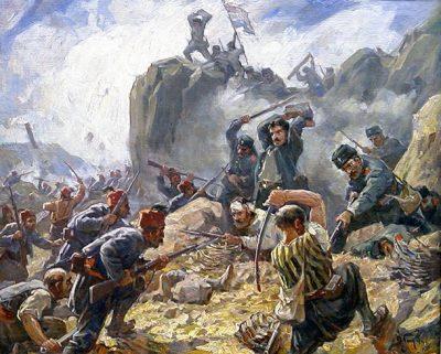 Bataille pour le Mont Shipka