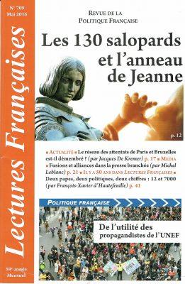 Lectures française n° 709