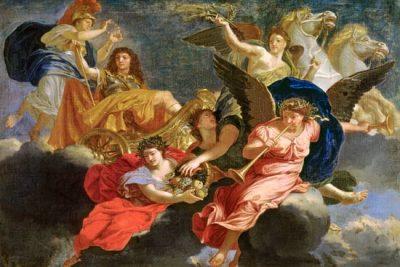 Louis XIV  apotheose
