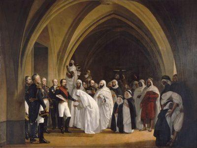 Abd-EL-Kader-And-Napoleon-III