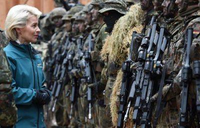 Allemagne_ministre_defense_Von_Der_Leyen