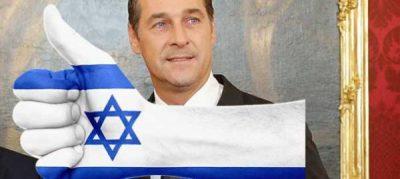 Autriche_Heinz_Christian_Strache_Israel