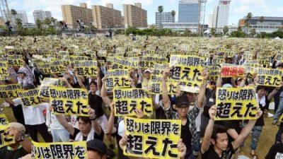 Japon_Okinawa_protestations_bases_USA