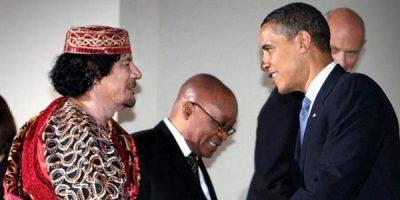 USA_Libye_Obama_Khadafi
