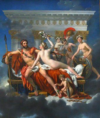 508px-Jacques-Louis_David_-_Mars_desarme_par_Venus