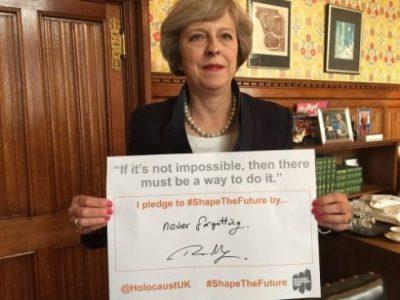 Royaume-Uni_Theresa_May_Holocauste