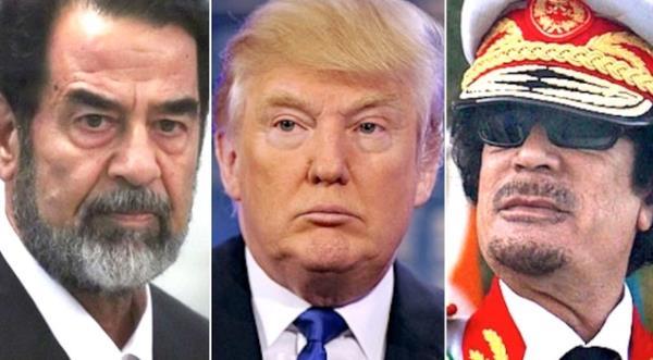 Saddam_Hussein_Donald_Trump_Muammar_Ghaddafi
