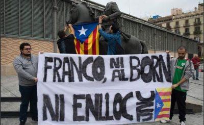 espagne-expo-antifranquiste-attaquee-par-independantistes-catalans-1