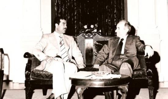 baath_party_founder_michel_aflaq_with_iraqi_president_saddam_hussein_in_1979